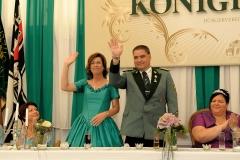 Kronprinzenpaar vor der Proklamation