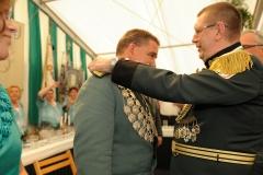 Proklamation durch Generaloberst Hans-Jürgen Effer