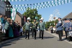 Regimentsführung bei der Parade