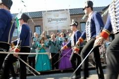 Schillsche Offiziere bei der Parade